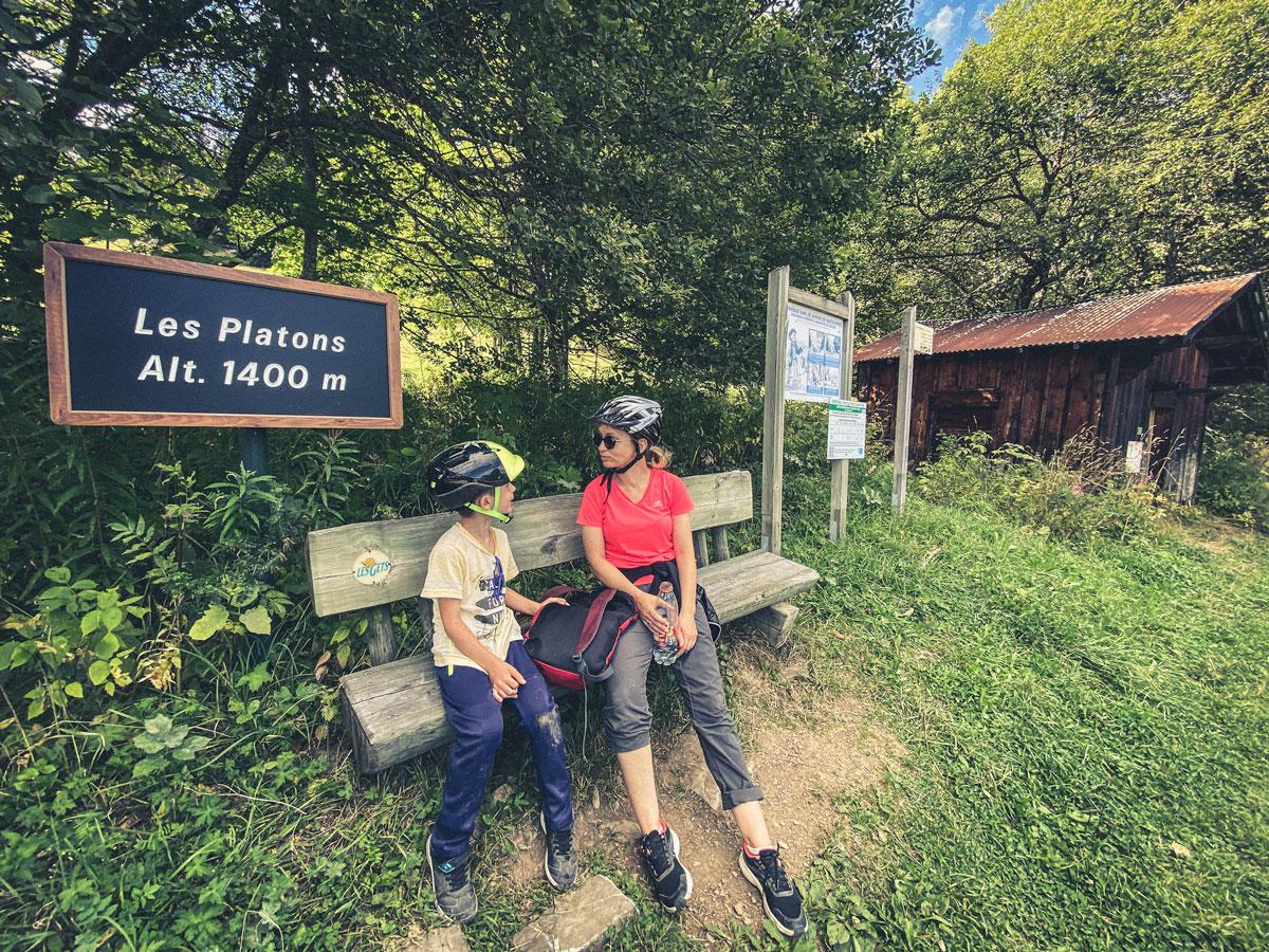 Bike park des Gets activité en famille dans les Alpes