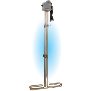 Baptistry Water Heating