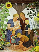 В. Вилльрих Немецкая семья