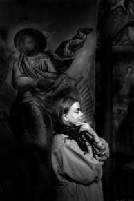 Маргарита Терехова. Углич. Храм Спаса на Крови. 1989. ©Александр Тягны-Рядно.
