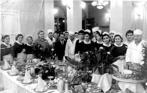 Коллектив советского ресторана