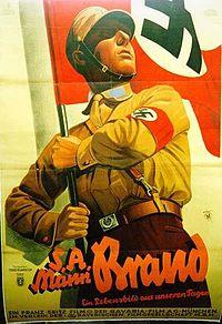 "Постер к фильму ""S.A.-Mann Brand"""