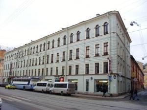 Здание по Садовой, 22. Наши дни