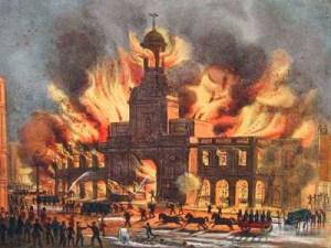 Пожар в Лондоне в 1666 году