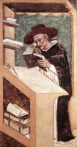 Первое изображение очков. Фреска монаха Томмазо да Модена