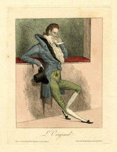 Карикатура на лорнера