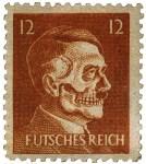 Пародийные марки с портретом Гитлера