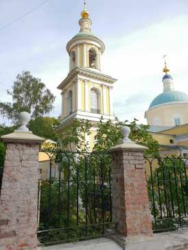 Тихвинская церковь в наши дни