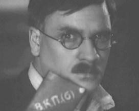 """Кадр из фильма """"Партийный билет"""". 1936 год"""