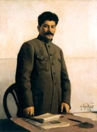 Портрет И.В. Сталина. 1928 год