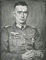 Отто фон Курзелль. Автопортрет