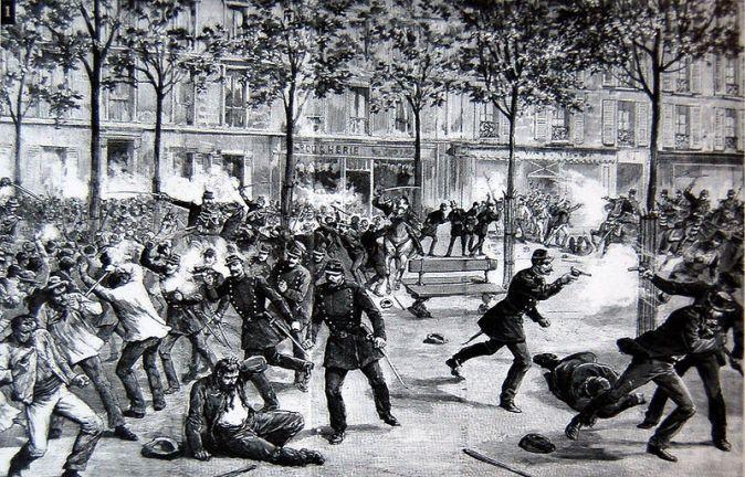 Расстрел рабочей демонстрации в Чикаго