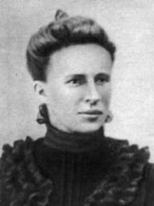 Начинающая революционерка Елена Стасова