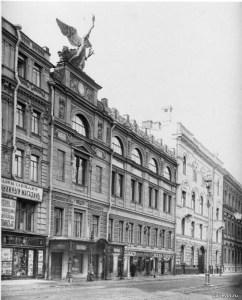 Здание в Петрограде по адресу Большая Морская, 38, в котором располагался ЛОССХ