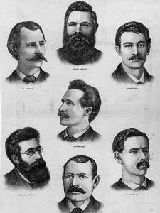 Жертвы первомайских волнений в 1886 году в Чикаго