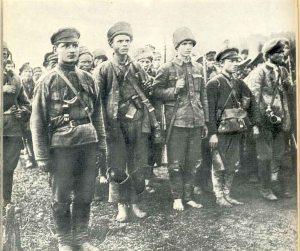 Первые отряды РККА