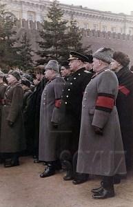 Г.К. Жуков на похоронах Сталина