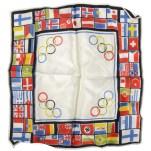 Сувенирный платок к Олимпиаде-36