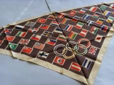 Сувенирная косынка к Олимпиаде-36