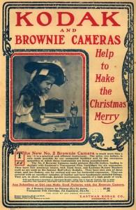 Рекламный плакат Kodak Brownie
