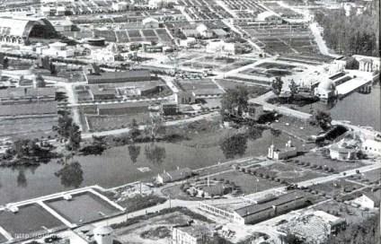 ВСХВ с высоты птичьего полета. 1939 год