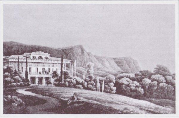 Дом Ришелье в начале XIX века