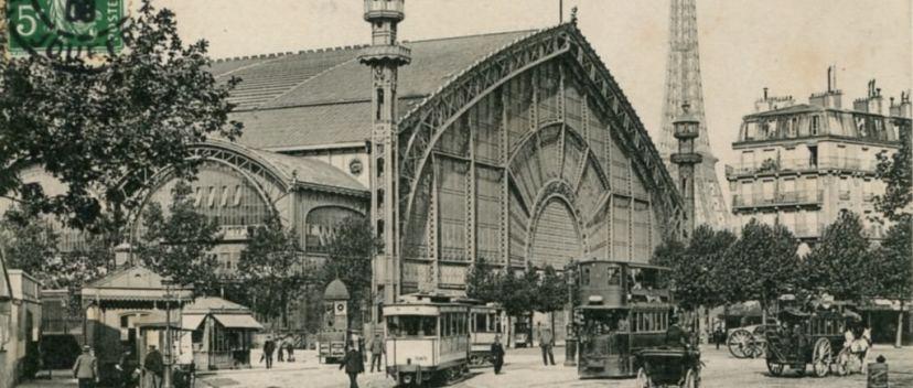 Галерея машин в Париже