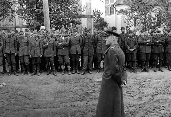 Немецкие военнопленные в Дубравлаге