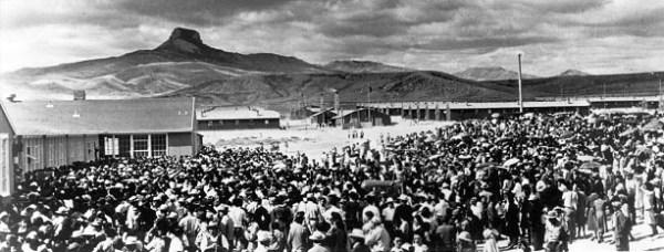 Депортационный лагерь для немцев в Казахстане