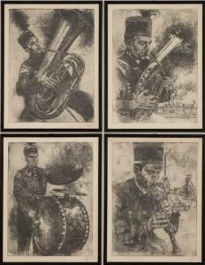 Рисунки Йозефа Аренса