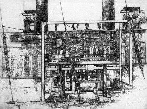 Картина Йозефа Аренса из индустриальной серии