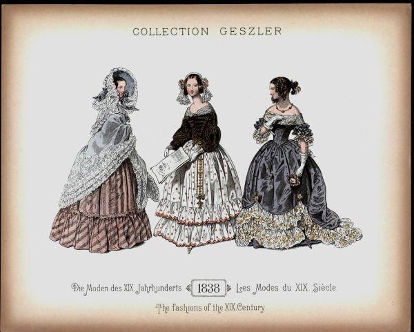 Рисунок из антикварного издания
