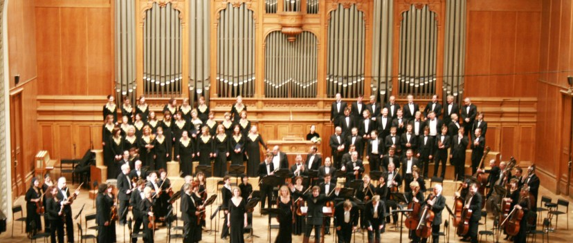 Орган Кавалье-Коля в Московской консерватории