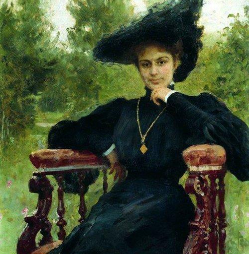 Портрет Марии Андреевой. 1905 год