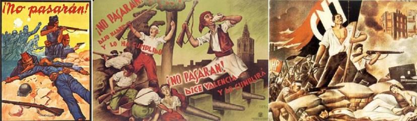 Испанские плакаты времен Гражданской войны