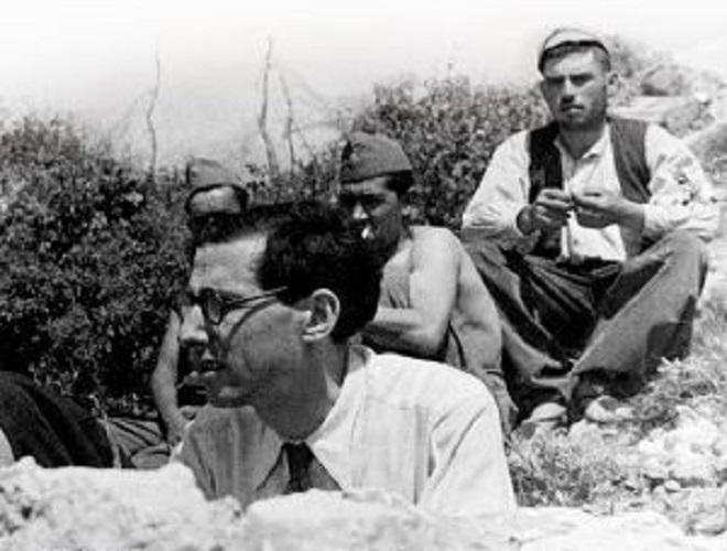 Михаил Кольцов в Испании