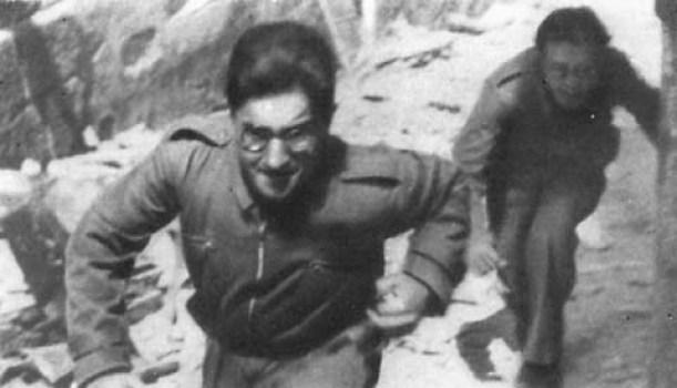 Михаил Кольцов на переднем крае обороны Мадрида. 1936 год
