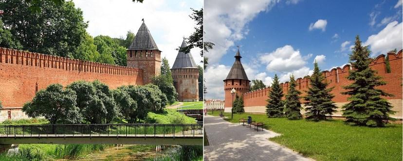 Смоленский и Тульский Кремли