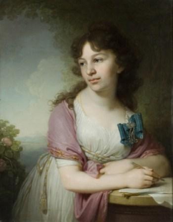 Однако из первых знатных владелиц особняка в районе Котельнической набережной - княгиня Е.А. Долгорукая