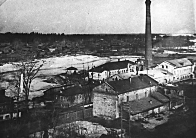 Завод в селе Кузнецово