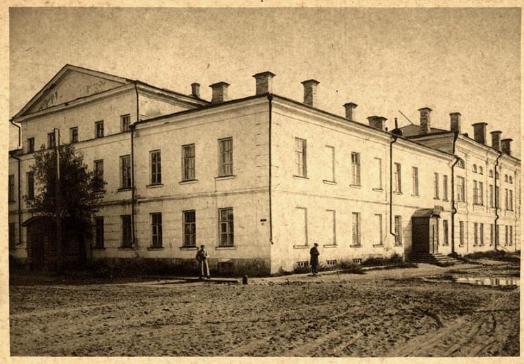 Здание, в котором в 1924 году размещался Клуб им. Троцкого