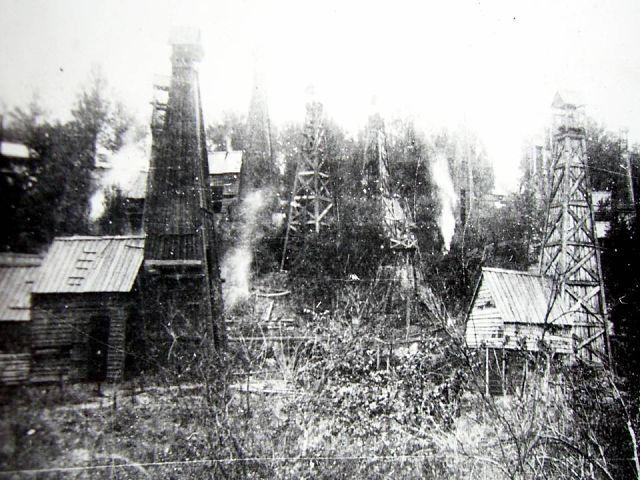 Майкопские нефтяные промыслы. Начала XX века