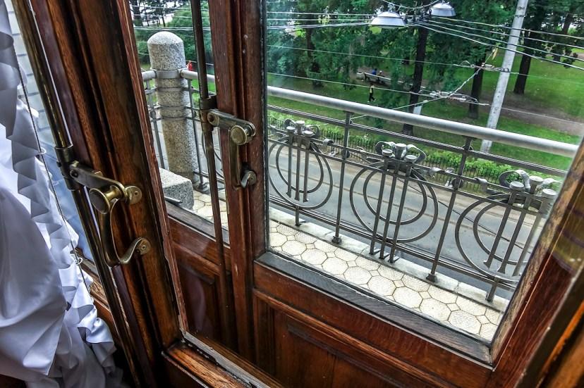 Исторический балкон