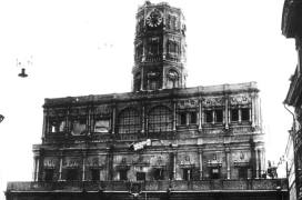 Снос Сухаревой башни в Москве