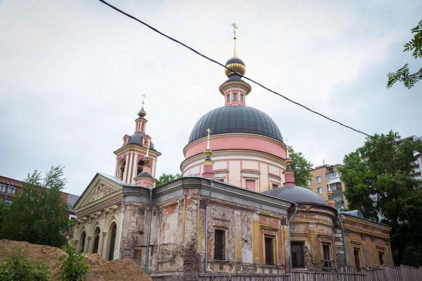 Храм Великомученицы Ирины - современный вид