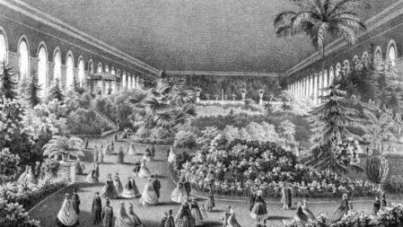 Гуляние в Манеже, XIX век