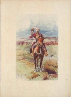 Сокольничий времён царя Михаила Федоровича