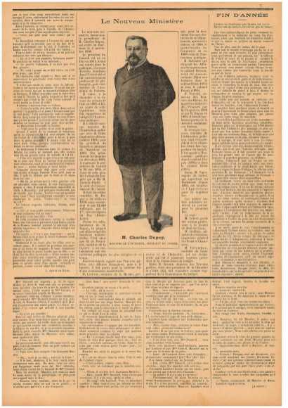 """""""Маленький провинциал"""" (Le Petit Provençal) № 26 от 20.11.1898, с. 5"""