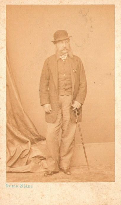 Князь Л. Г. Гагарин, 1867 г., Париж