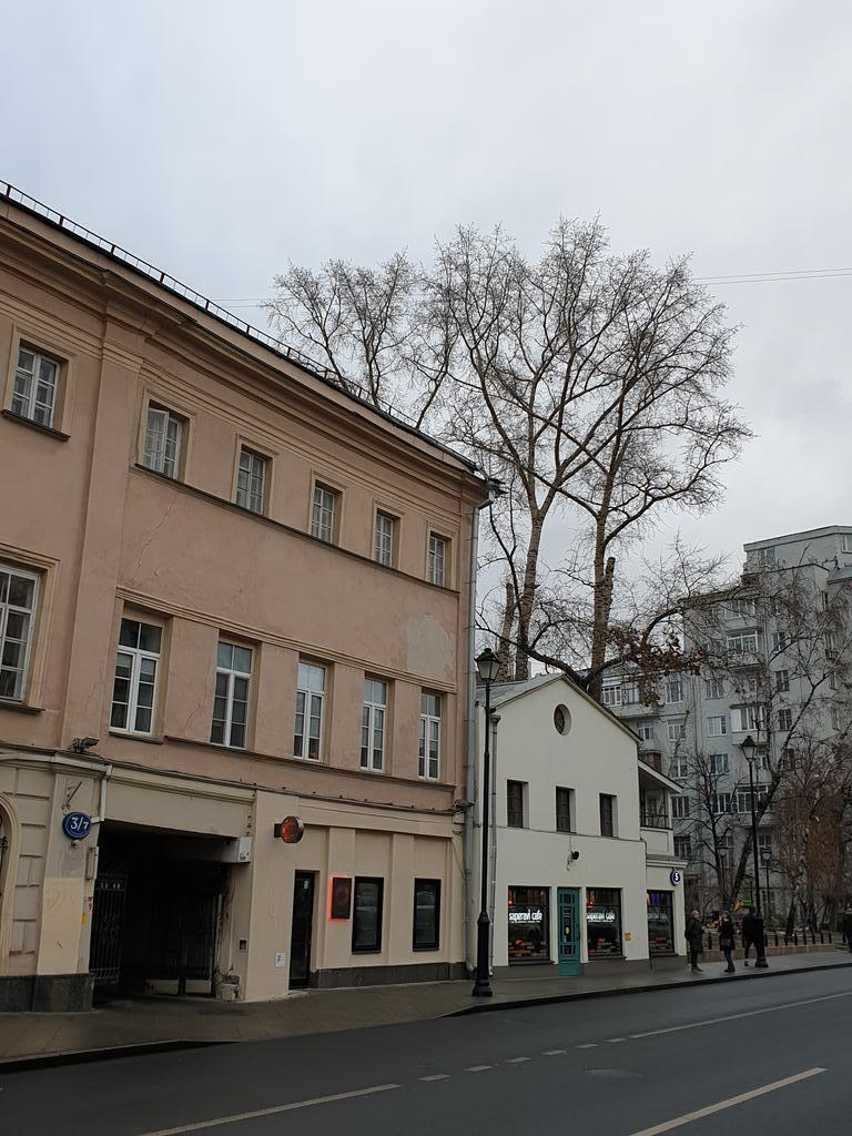 угол покровки и потаповского переулка, москва, фотография